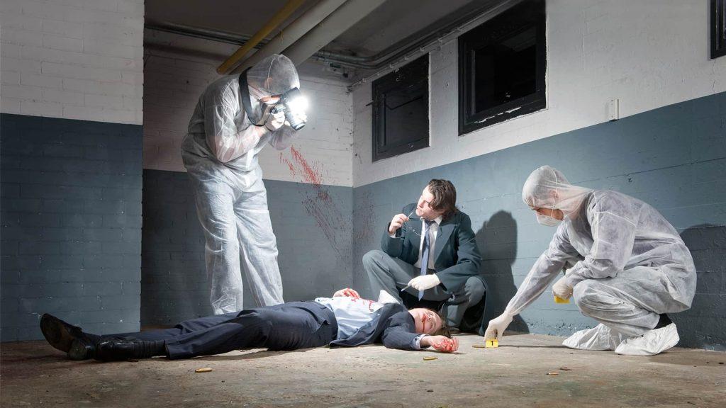 осмотр места совершения преступления