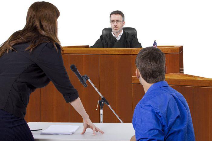 приостановление судебного разбирательства