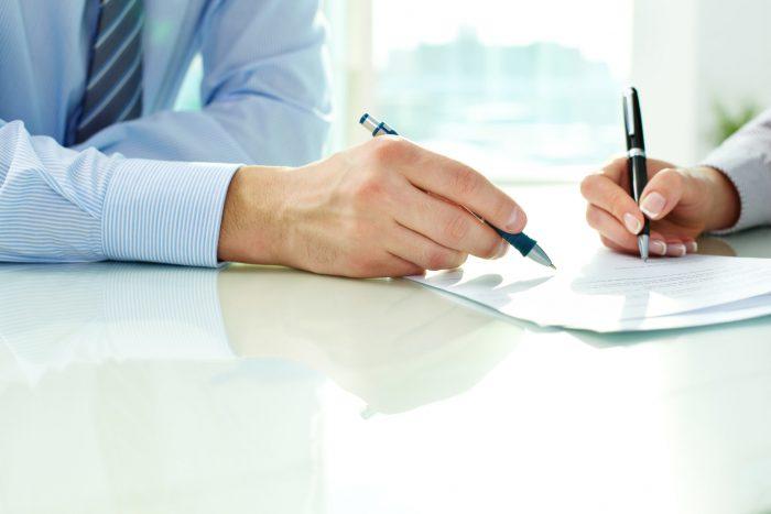 оформление документов и расписок