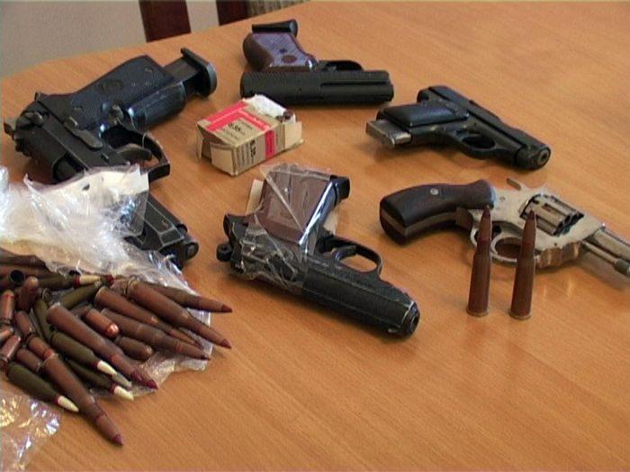 использование оружия