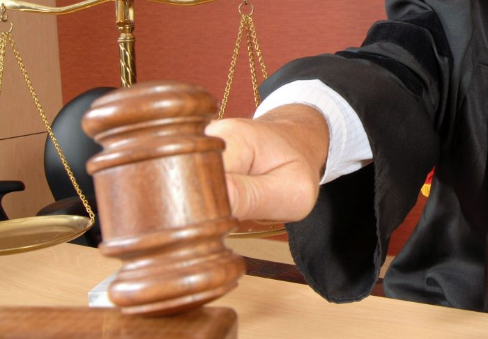 судья выбирает меру ответственности