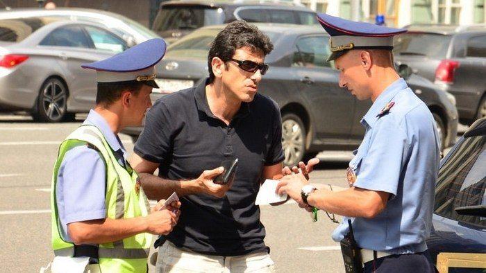 действия полицейских