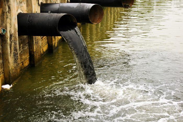загрязнения вод