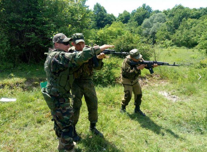 организация незаконного вооруженного формирования