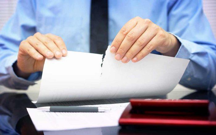 отказ в предоставлении документов