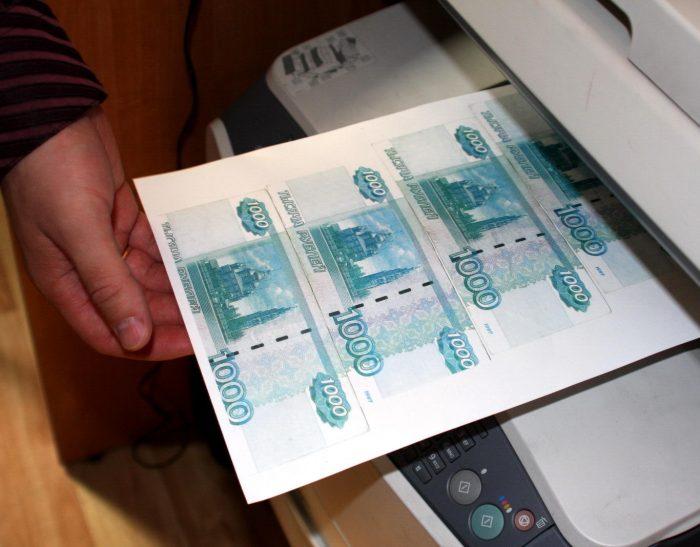 изготовление поддельных денег