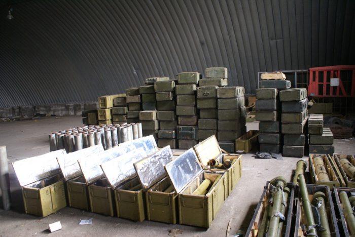 охрана взрывчатки