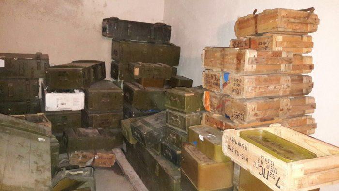 ненадлежащее хранение боеприпасов