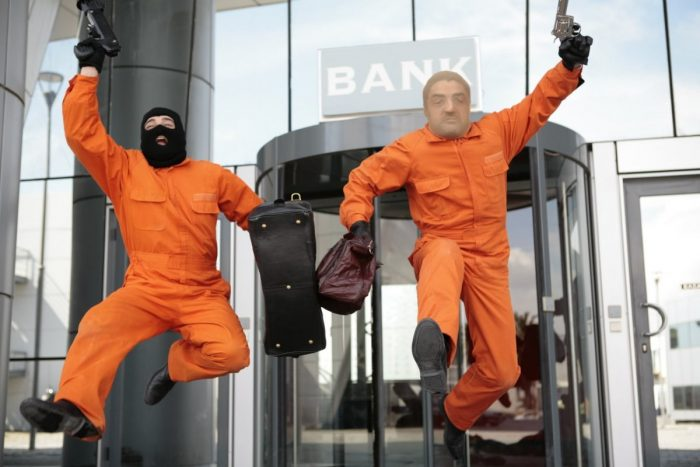 ограбление банковского отделения